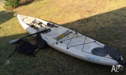 Hobie Quest 13, Used, Good Condition, Seat, Paddle...