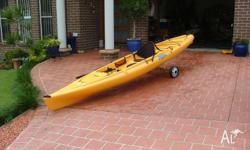 My Hobie Quest for sale, complete with trolly,dry bag,