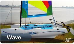 The Hobie Wave is an easy-to-sail, easy-to-rig