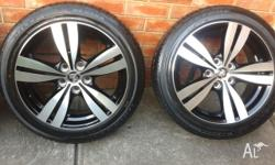 HOLDEN GENUINE FACTORY 2015 STOME Tyres and wheels