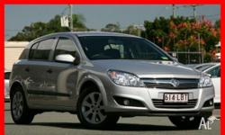 HOLDEN, Astra, AH MY08.5, 2008, Front Wheel Drive,