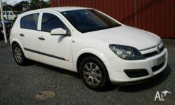 HOLDEN,Astra,AH MY05,2005, Front Wheel Drive, White,