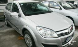 HOLDEN,ASTRA,AH MY07,2007, FWD, Silver, 5D HATCHBACK,