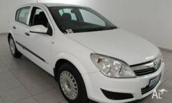 HOLDEN, Astra, AH MY07, 2007, Front Wheel Drive, White,