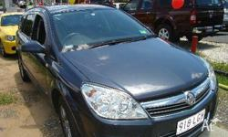 HOLDEN, ASTRA, AH MY08.5, 2008, FWD, BLUE, 4D WAGON,