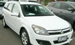 HOLDEN,ASTRA,AH MY07,2006, FWD, White, 4D WAGON,