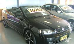 HOLDEN,ASTRA,TS,2003, FWD, BLACK, BLACK LEATHER trim,