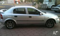 "2002 Holden Astra City TS, 16"" alloys, cd player, cold"