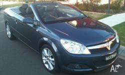 2007 Astra Twin Top Convertible, Excellent condition,