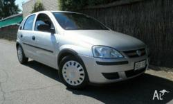 HOLDEN, BARINA, XC MY05, 2005, FWD, Star Silver, 5D
