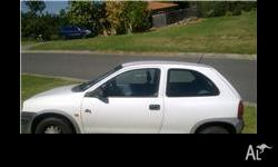 Neat holden barina, 5speed manual, Excellent condition,