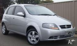 HOLDEN, BARINA, TK MY07, 2007, FWD, Silver, 3D