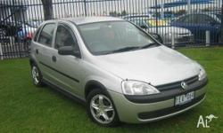 HOLDEN,Barina,XC,2002, Front Wheel Drive, SILVER, 5dr