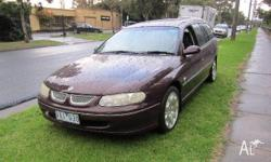 HOLDEN, BERLINA, VT, 1997, RWD, RED, 4D SEDAN, 4987cc,