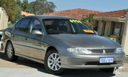 HOLDEN, Berlina, VX II, 2002, Rear Wheel Drive, Gold,