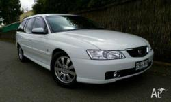 HOLDEN, BERLINA, VYII, 2004, RWD, White, 4D WAGON,