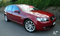 HOLDEN, CALAIS, VE MY10, 2009, Red Passion, WAGON, 6L,