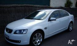 HOLDEN, CALAIS, VE, 2006, RWD, Heron White **1 Owner**,