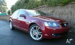 HOLDEN, CALAIS, VE MY08, 2008, RWD, Red Passion, 4D