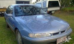 Holden calais runs well, will sell with rego if a