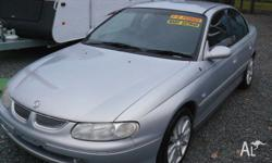 HOLDEN,CALAIS,VT,1999, RWD, 4D SEDAN, 4 SP AUTOMATIC,