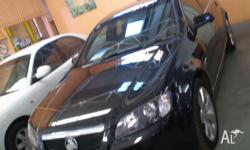 HOLDEN, CALAIS, VZ, 2006, RWD, BLACK, 4D SEDAN, 3565cc,