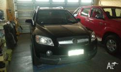 holden captiva very good condition low kms