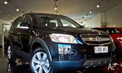 HOLDEN, Captiva, CG MY10, 2011, 4X4 On Demand, CARBON