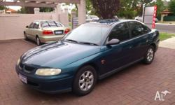 Selling my Holden Commodore Vt 99 auto. A reliable work