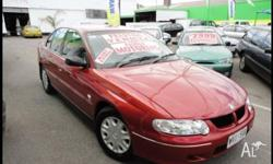 HOLDEN,COMMODORE,VX,2000, RWD, MAROON, GREY trim, 4D