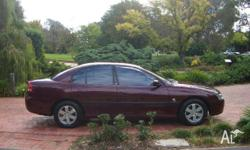 HOLDEN,COMMODORE,VY,2002, RWD, burgundy, grey trim, 4D