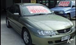 HOLDEN,COMMODORE,VY,2003, RWD, GREEN, GREY trim, 4D