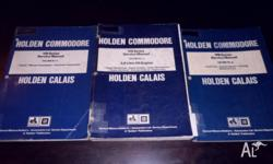 Holden Commodore Calais VN Series Service Manuals 3