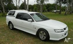 HOLDEN,COMMODORE,s,2004, WHITE, C/CHAS, 6cyl, Petrol, 5