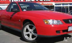 HOLDEN,COMMODORE,DEL 04 VY EXECUTIVE,2003, UTILITY, V6,