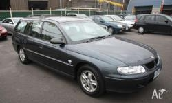 HOLDEN, Commodore, VX, 2001, Rear Wheel Drive, GREY,