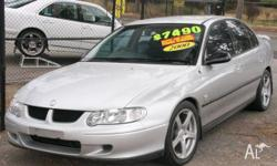 HOLDEN,COMMODORE,2000, RWD, Silver, 4D SEDAN, 4 SP