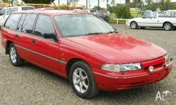 HOLDEN,Commodore,VP,1991, Rear Wheel Drive, RED, 4dr