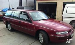 HOLDEN,COMMODORE,VS,1996, RWD, maroon, 4D WAGON,