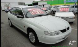 HOLDEN,Commodore,VT,1997, Rear Wheel Drive, WHITE, 4dr