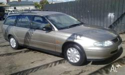 HOLDEN, COMMODORE, VT, 1998, RWD, GOLD, 4D WAGON,