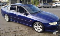 HOLDEN, COMMODORE, VT, 1998, RWD, BLUE, 4D SEDAN,
