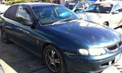 HOLDEN,COMMODORE,VT,1998, RWD, blue, 4D SEDAN, 3791cc,
