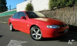 HOLDEN, COMMODORE, VTII, 1999, RWD, Red **Lots of
