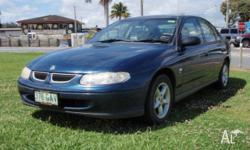 HOLDEN,COMMODORE,VTII,2000, RWD, Royal Blue, 4D SEDAN,