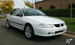 HOLDEN,Commodore,VX,2000, Rear Wheel Drive, White, 4dr