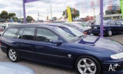 HOLDEN, COMMODORE, VX, 2001, RWD, NAVY BLUE, 4D WAGON,