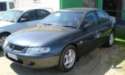HOLDEN,COMMODORE,VX,2001, RWD, CHARCOAL, 4D SEDAN,