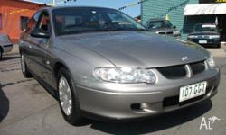 HOLDEN,COMMODORE,VXII,2001, RWD, 4D SEDAN, 3791cc,