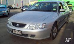 HOLDEN,COMMODORE,VY,2003, RWD, silver, 4D WAGON,